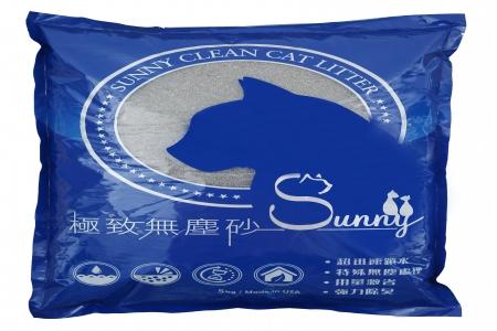 Sunny極致無塵貓砂(5kg*5包)