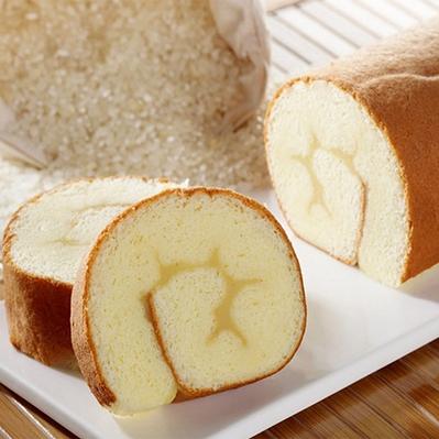 樂米工坊.瑞士捲米蛋糕 原味(462g/條,共兩條)