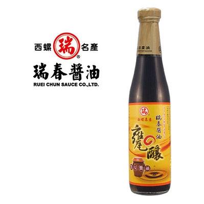 瑞春.甕釀黑豆醬油(十二瓶入)