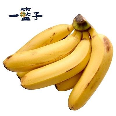一籃子.旗山特級安全香蕉,共6把