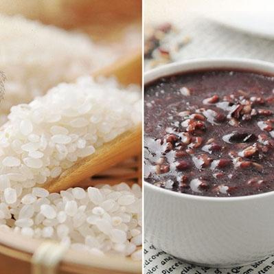 紅藜阿祖.紅藜輕鬆包 紅豆紫米粥x3+白米x3(300g/包,共6包)