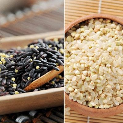 紅藜阿祖.紅藜輕鬆包 小米紫米x3+胚芽蕎麥米x3(300g/包,共6包)