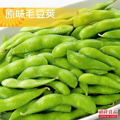禎祥食品.鹽味毛豆莢 (300g/包,共3包)