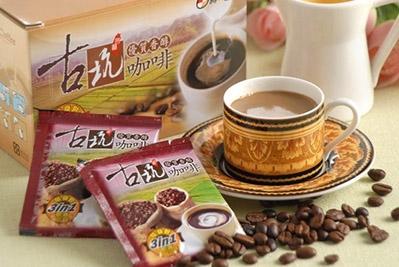 源順.古坑三合一咖啡(18小包/盒,共四盒)