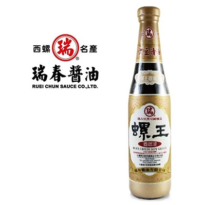 瑞春.螺王壺底油(純素)(十二瓶入/箱)