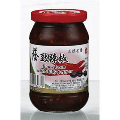 丸莊.蔭豉辣椒(大) (共6罐)