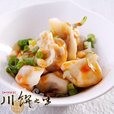川饌.招牌紅油餃 (30顆/盒,共8盒)