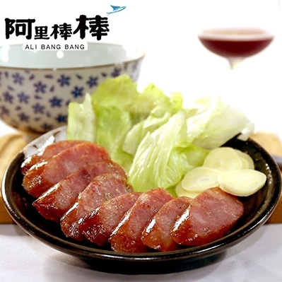 阿里棒棒.紅酒飛魚卵香腸(300g/包,共三包)