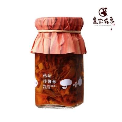 鹿窯菇事.菇菇伴醬-辣味(110ml/罐,共2罐)