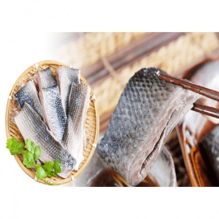 滑嫩豐富膠質虱目魚皮-4包