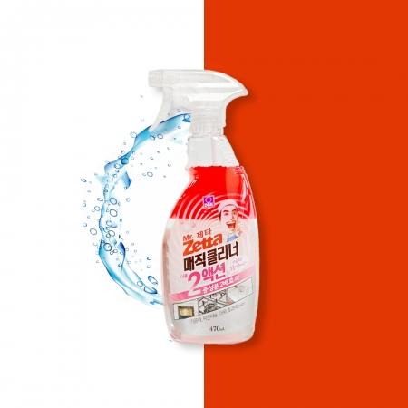 (即期良品↘)【韓國 DBK】Mr. Zetta魔術雙效清潔劑 470ml-效期至2021/12/03