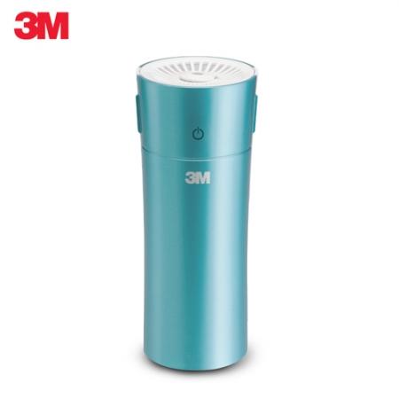 【3M】淨呼吸車用/個人隨身型空氣清淨機(松石綠)