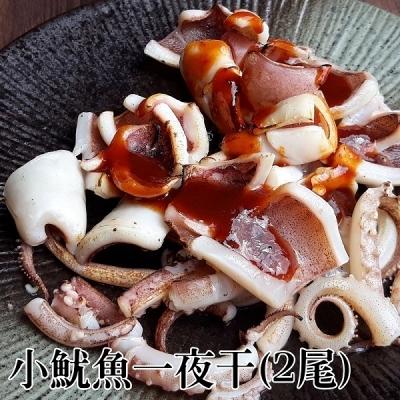 台江漁人港.小魷魚一夜干(250-300g/2尾/包,共二包)