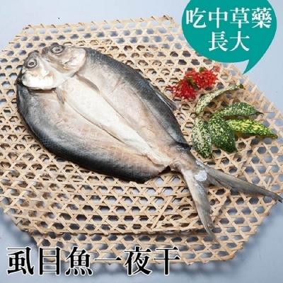 台江漁人港.虱目魚一夜干(全魚去刺)(450g/包,共二包)