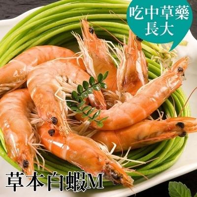 台江漁人港.草本白蝦(M)(半斤/包,共二包)