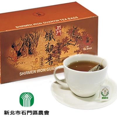 石門.鐵觀音袋茶(25入/盒,共三盒)