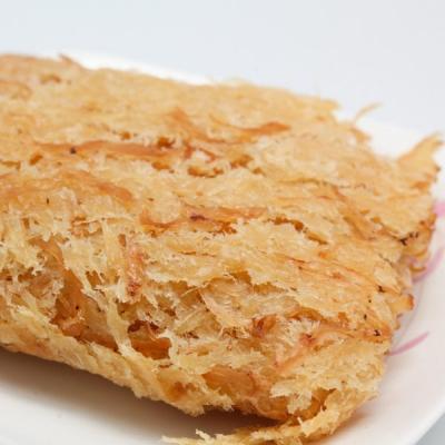 金梓食品.煙燻魷魚片(180g/包,共兩包)