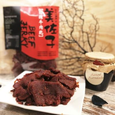 美佐子.肉乾系列-勁辣牛肉乾(150g/包,共2包)