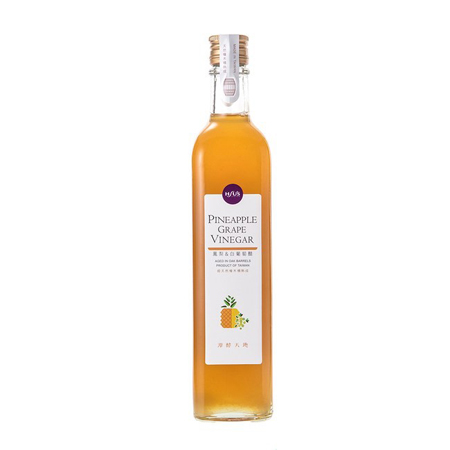 [潭酵天地] 鳳梨白葡萄醋 500ml/瓶