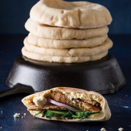 【約克街肉鋪】美國直送6寸口袋麵包(70g/個)-6個