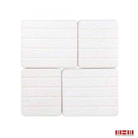 【MBM】台灣製珪藻土巧拼板(4片/盒)