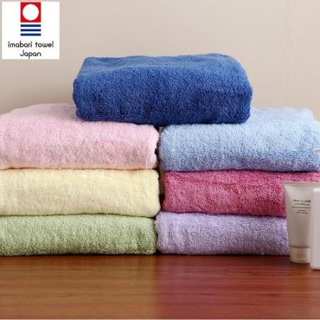 日本銷售第一100%純棉今治認證素色浴巾/毛巾禮盒組