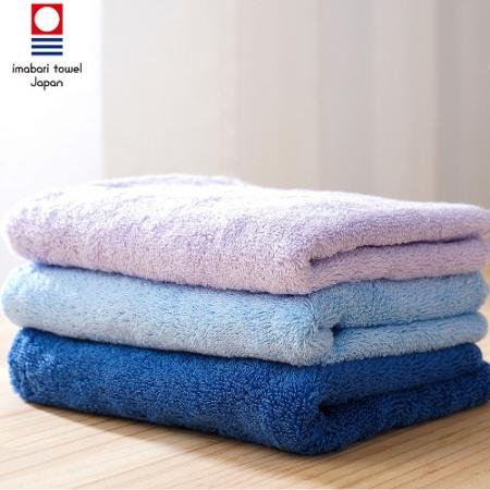 日本銷售第一100%純棉今治認證素色毛巾