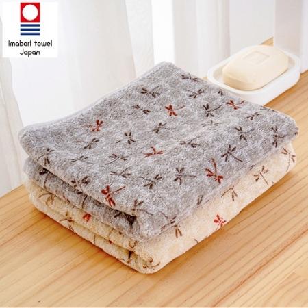 日本銷售第一100%純棉今治認證蜻蜓系列毛巾