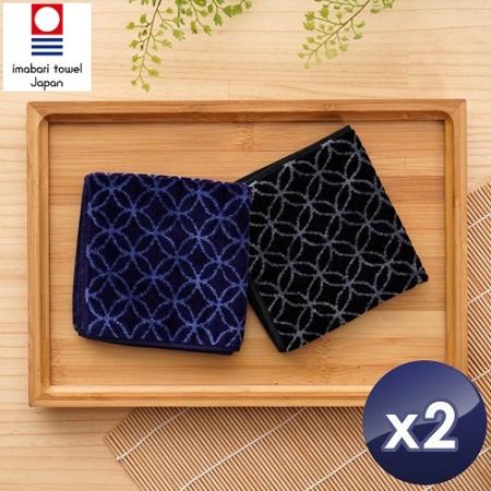 日本銷售第一今治認證七寶方巾(2入/組)