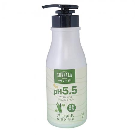 【姍莎菈】PH5.5淨白美肌保濕沐浴乳(480ml/瓶)