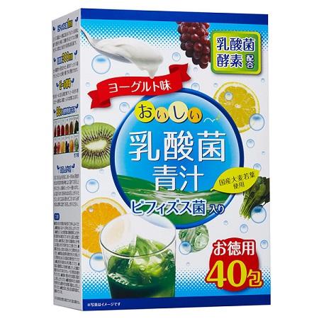 【全日營養】雙酵乳酸菌青汁3g×40包