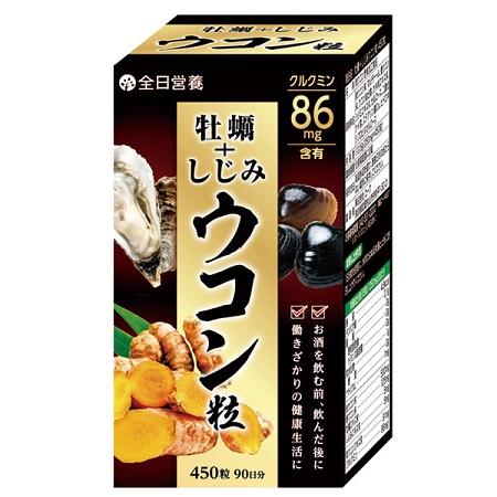 【全日營養】優和元氣薑蜆錠450粒