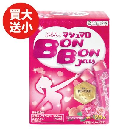 全日營養蜜桃青木瓜果凍條10gx28包(買大送小)
