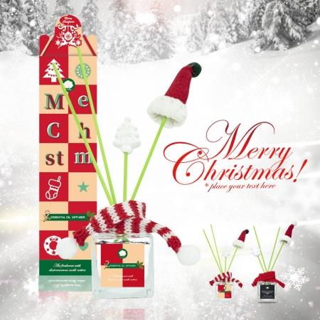 MIT冬季限定聖誕暖心珪藻土擴香瓶 50ml