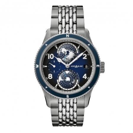 【萬寶龍】MONTBLANC  1858 Geosphere 世界時區腕錶