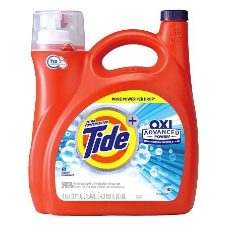 〔美式賣場〕Tide 汰漬 OXI亮白護色洗衣精 4.43公升