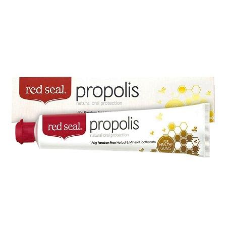 〔美式賣場〕Red Seal 紅印蜂膠牙膏160克 6入