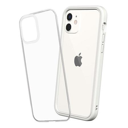 〔美式賣場〕犀牛盾 iPhone 12/ 12 Pro Mod NX 手機殼+9H 3D滿版玻璃保護貼 白