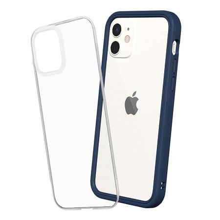 〔美式賣場〕犀牛盾 iPhone 12/ 12 Pro Mod NX 手機殼+9H 3D滿版玻璃保護貼 海軍藍