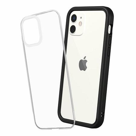 〔美式賣場〕犀牛盾 iPhone 12/ 12 Pro Mod NX 手機殼+9H 3D滿版玻璃保護貼 黑