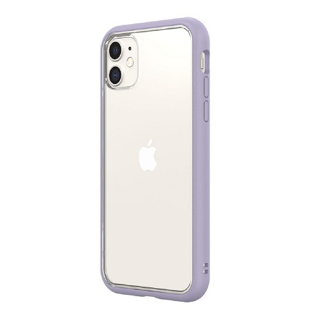 〔美式賣場〕犀牛盾 iPhone 11 Mod NX 手機殼+耐衝擊正面保護貼 薰衣草紫