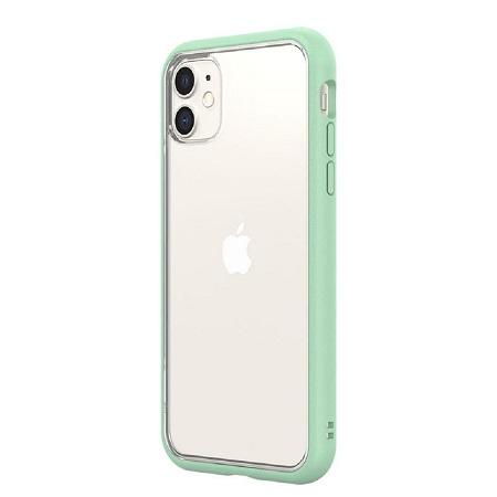 〔美式賣場〕犀牛盾 iPhone 11 Mod NX 手機殼+耐衝擊正面保護貼 薄荷綠