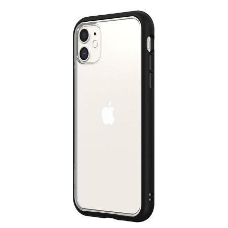 〔美式賣場〕犀牛盾 iPhone 11 Mod NX 手機殼+耐衝擊正面保護貼 黑