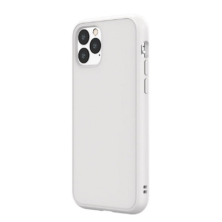 〔美式賣場〕犀牛盾 iPhone 11 Pro Solidsuit 手機殼+耐衝擊正面保護貼 白