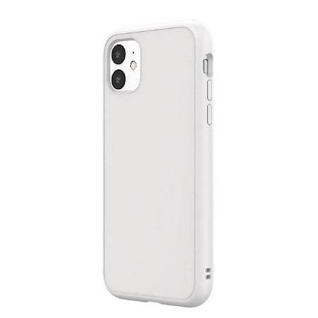〔美式賣場〕犀牛盾 iPhone 11 Solidsuit 手機殼+耐衝擊正面保護貼 白