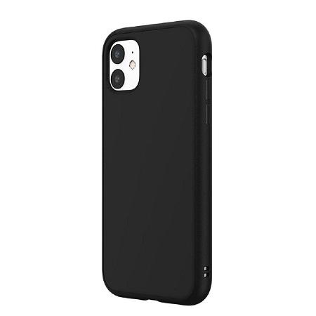 〔美式賣場〕犀牛盾 iPhone 11 Solidsuit 手機殼+耐衝擊正面保護貼 黑
