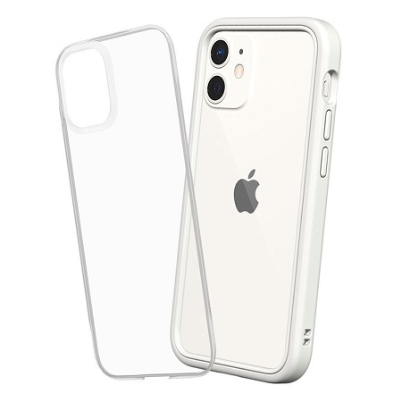 〔美式賣場〕犀牛盾 iPhone 12 mini Mod NX 手機殼+9H 3D滿版玻璃保護貼 白
