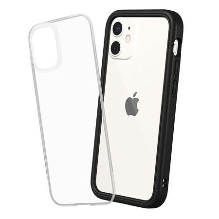 〔美式賣場〕犀牛盾 iPhone 12 mini Mod NX 手機殼+9H 3D滿版玻璃保護貼 黑