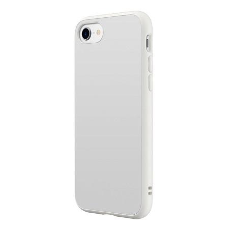 〔美式賣場〕犀牛盾 iPhone SE Solidsuit 手機殼+耐衝擊正面保護貼 白