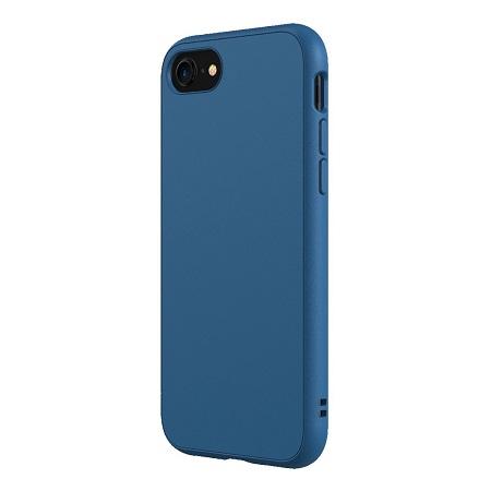 〔美式賣場〕犀牛盾 iPhone SE Solidsuit 手機殼+耐衝擊正面保護貼 藍